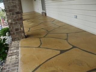 Flagstone Stamped Concrete | Monasses Virginia | Tailored Concrete Coatings