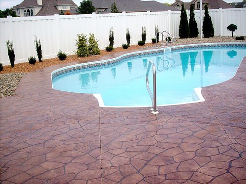 Flagstone Stamped Concrete | Winchester Virginia | Tailored Concrete Coatings
