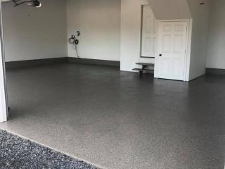 Graniflex Concrete Resurfacing   Garage   Leesburg Virginia   Tailored Concrete Coatings