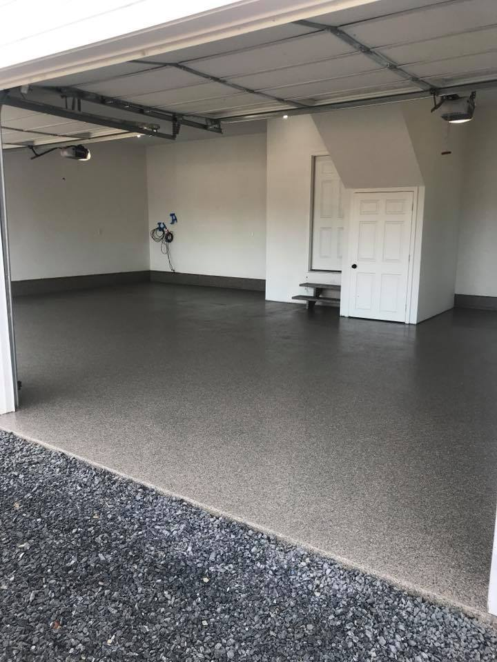 Graniflex Concrete Resurfacing | Garage | Leesburg Virginia | Tailored Concrete Coatings