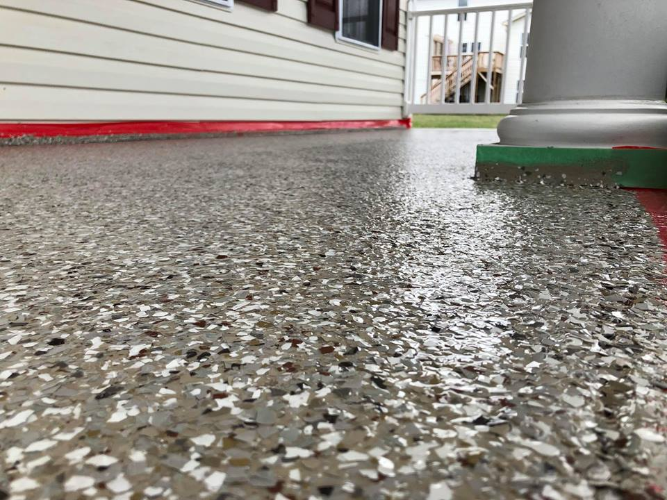 Graniflex Concrete Resurfacing | Winchester Virginia | Tailored Concrete Coatings