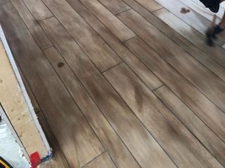 Rustic Concrete Wood | Winchester Virginia | Tailored Concrete Coatings