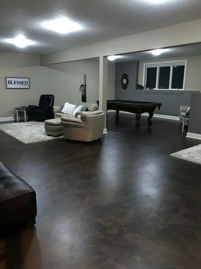 Metallic Marble Epoxy Flooring | Monasses Virginia | Tailored Concrete Coatings